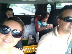 Federico Lavanche e famiglia