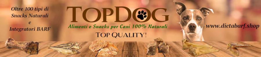 Alimenti e Snacks Naturali per cani