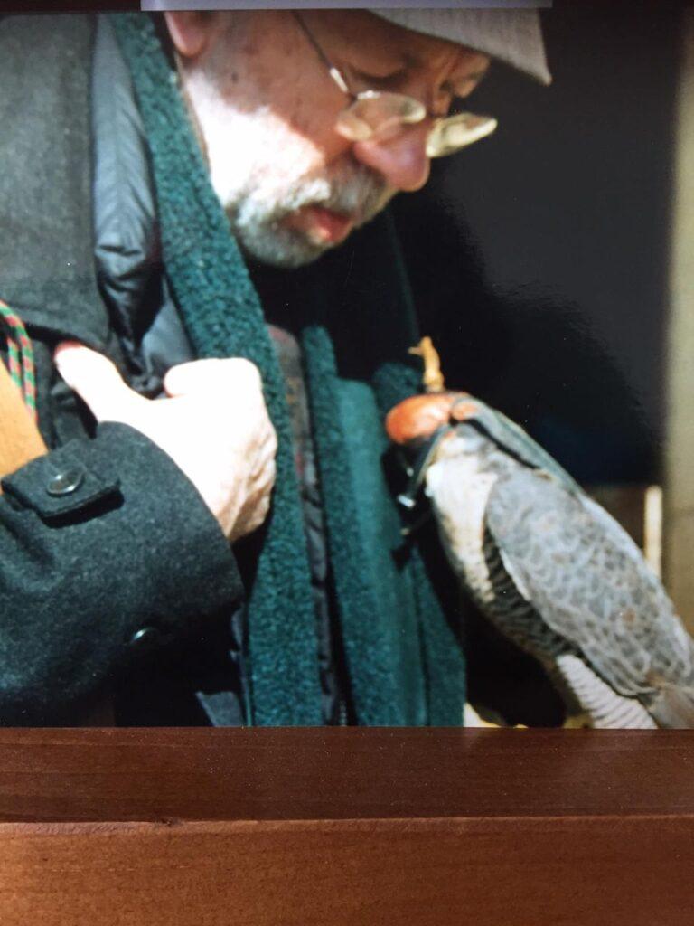 Gianpiero Del Mastro Calvetti falconiere
